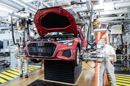 Production of the new generation AUDI A3 has BEGUN