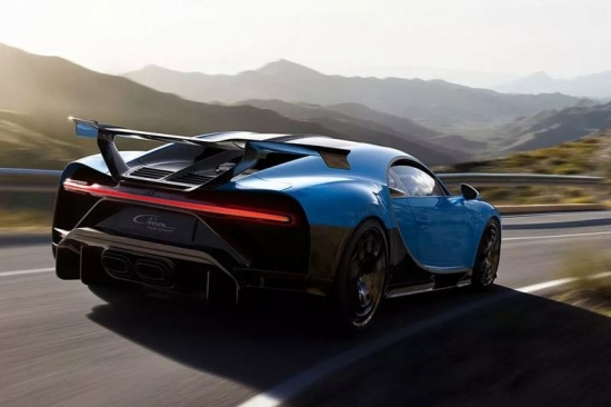 SPORT PUR THE BUGATTI CHIRON: ONLY 16 COPIES